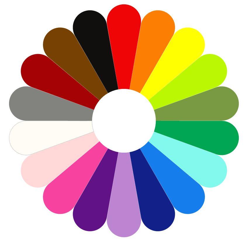 Kracht van Kleur Kleurenbloem